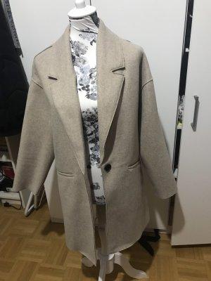 Langer Zara mantel beige Trenchcoat neu Blogger Musthave