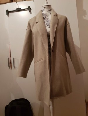 Zara Veste oversize noir-beige
