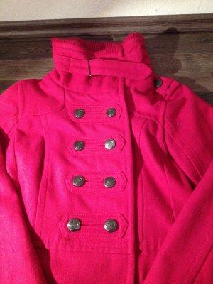 Langer zweireihiger Mantel von Bershka