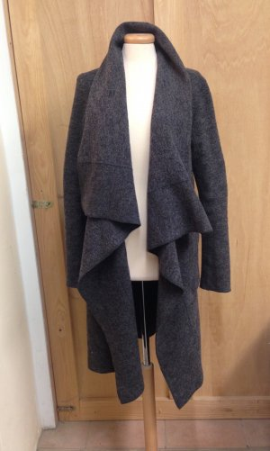 Langerchen Walk Loden Mantel Cardigan wolle