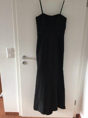 Langes Abendkleid 36 lang schwarz Vera Mont