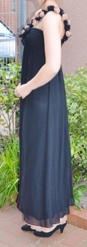 One Shoulder Dress black-cream