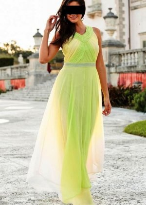 b.p.c. Bonprix Collection Vestido de baile multicolor