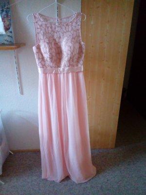 Langes Abendkleid rosa