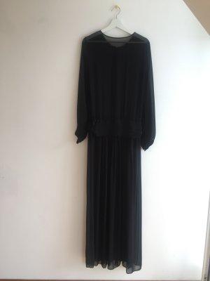 Zara Evening Dress black polyester