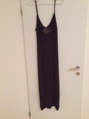 Langes Abendkleid, sommerlich, braun, Gr, 36, von Klaus Dilkrath