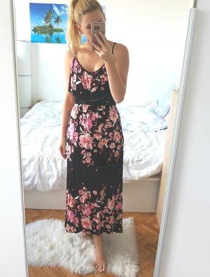 Langes Blumenkleidchen
