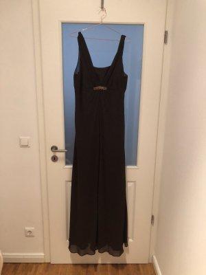 langes, braunes Abendkleid von Mariposa