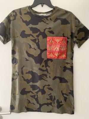 Zara Trafaluc Camiseta multicolor