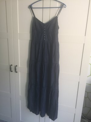 Langes Denim Kleid - Größe M