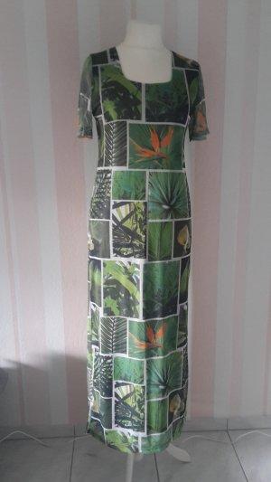 Maxi-jurk grasgroen-bos Groen