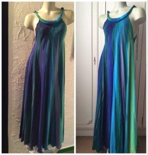 langes Designer Kleid aus Seide Einzelstück