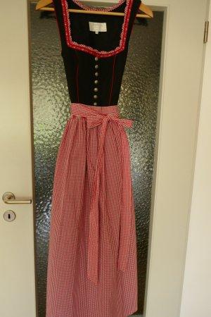 Angermaier Dirndl black-red cotton