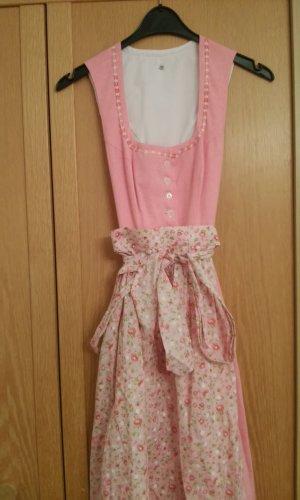 Vestido Dirndl rosa Algodón