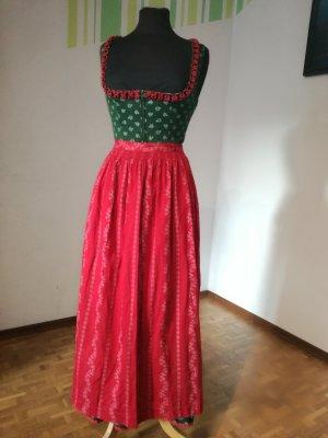 langes Dirndl von Turi, Kleid mit Schürze, Trachtenkleid