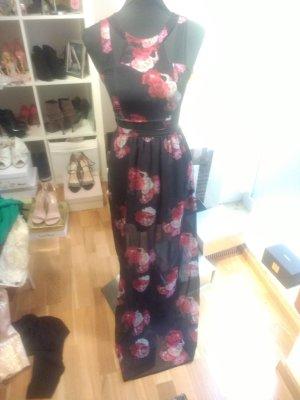 langes elegantes chiffon Kleid