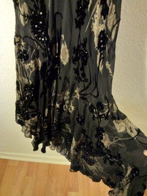 Murek Fashion Evening Dress black-green grey