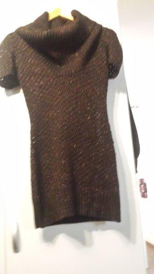 Tally Weijl Vestido tipo jersey marrón