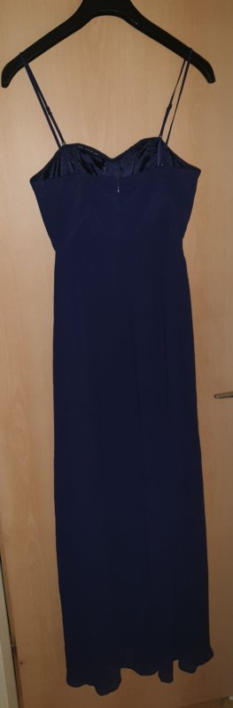 H&M Bandeau Dress dark blue