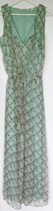 Langes Freizeitkleid von Ralf Lauren / Größe XS-S / grün / vintage