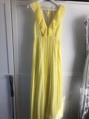 Langes Gelbes Kleid Zara
