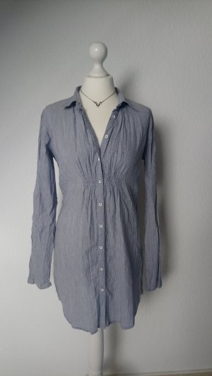 langes Gestreiftes Hemd / Longbluse von Marc O'Polo,  LINEN COTTON