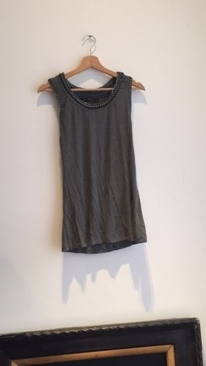 langes graues All Saints Tanktop