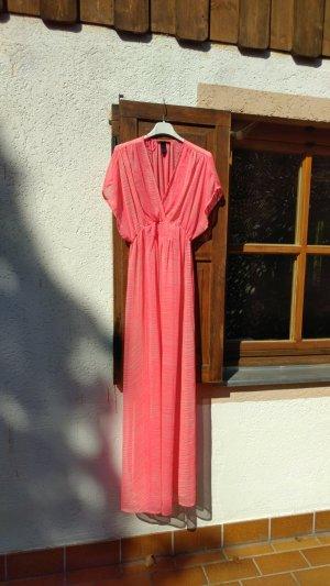 Langes H&M Kleid in pink