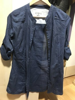 Mavi Zakelijk overhemd donkerblauw