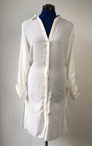 First and I Robe chemise blanc