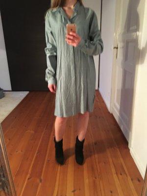 Langes Hemdkleid Blusenkleid