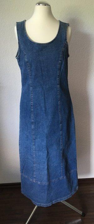 Langes Jeans - Kleid