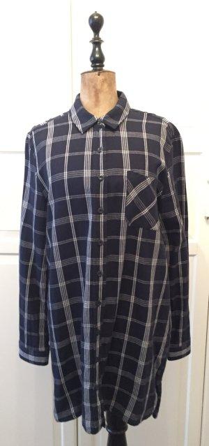 Esmara Flannel Shirt dark blue-white
