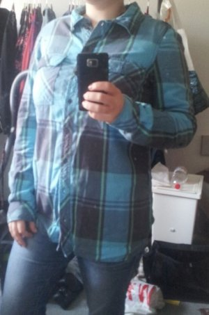 H&M Divided Lumberjack Shirt multicolored cotton