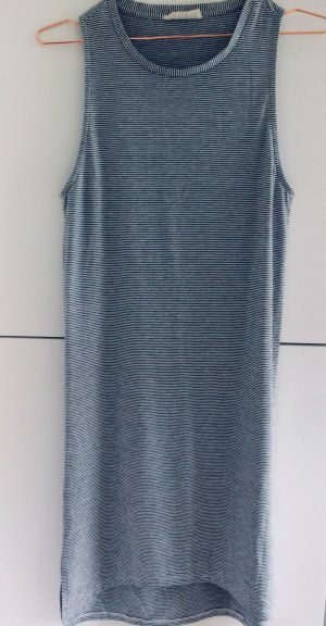 24Colours Jersey Dress dark blue-natural white