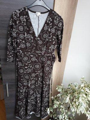 langes Kleid braun C&A
