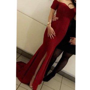 ae elegance Evening Dress bordeaux