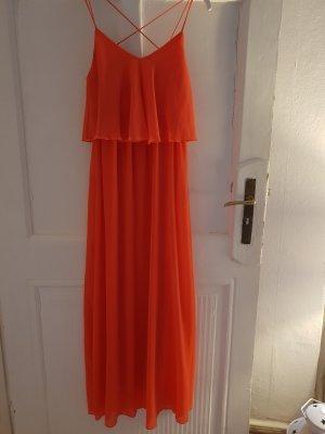 Amisu Chiffon jurk veelkleurig