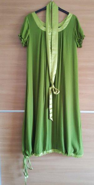 Robe ballon vert gazon-vert