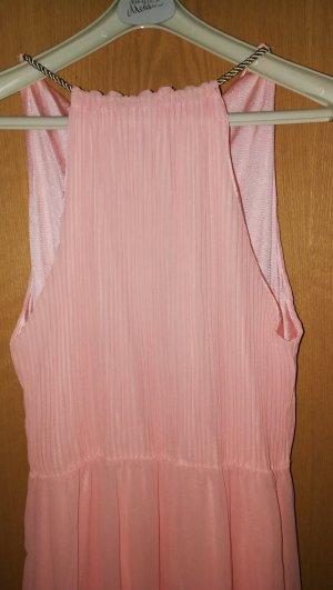 langes Kleid in rosa
