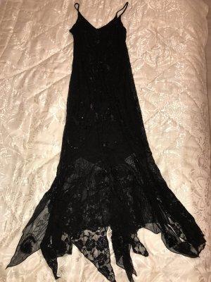 langes Kleid in Schwarz von Nicowa