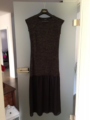 Langes Kleid in Zweiteiler-Optik