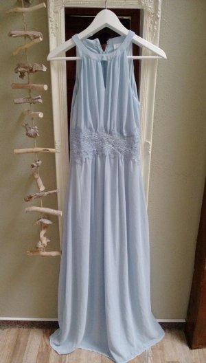 Langes Kleid Maxikleid Abendkleid Cocktailkleid 42 (XL) hellblau Vila Neu € 60,-  Langes Kl