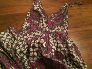 Langes Kleid Maxikleid Blumen Sommer Hippie NEU