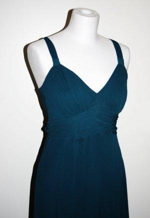Langes Kleid, Meerblau, NEU ungetragen, Gr. XS