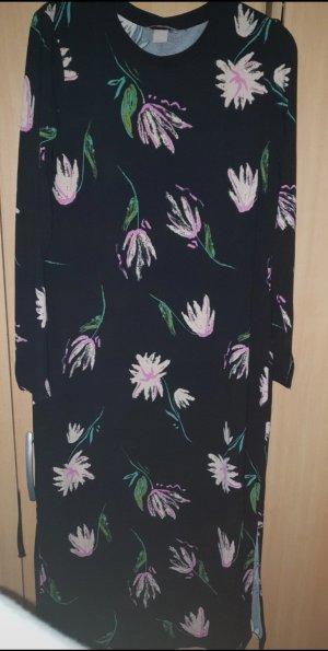 H&M Vestido cut out multicolor