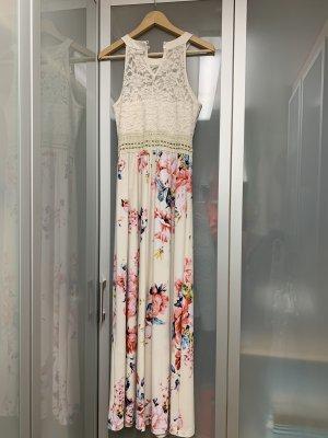 b.p.c. Bonprix Collection Off-The-Shoulder Dress multicolored