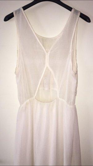 Langes Kleid mit rückendetails