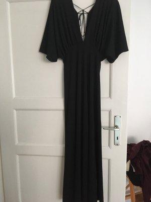 Langes Kleid mit Rückenschnürung H&M Trend M 38