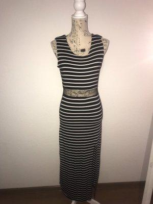 Stretch Dress black-white